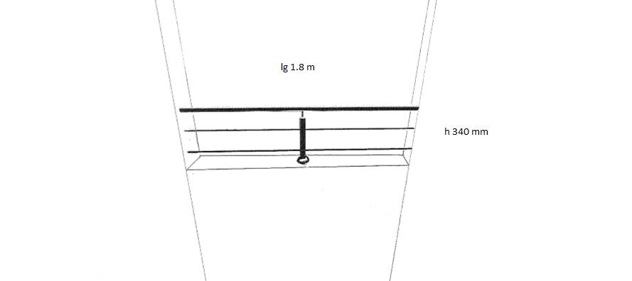 garde corps a cables traversants inox 316 pm pose fr mc. Black Bedroom Furniture Sets. Home Design Ideas