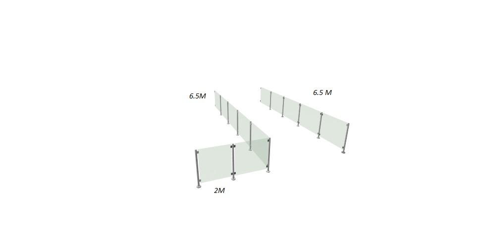 garde corps verre sans mc pose fr inox 316 ikare france. Black Bedroom Furniture Sets. Home Design Ideas